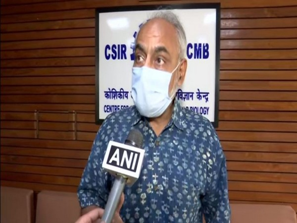 Dr Rakesh Mishra, Director of CSIR- CCMB in conversation with ANI. (Photo/ANI)