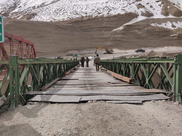 Visuals from Leh-Sachru Road (Photo/ANI)