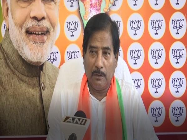 BJP MP Jagannath Sarkar speaking to ANI in Delhi on Sunday. [Photo/ANI]