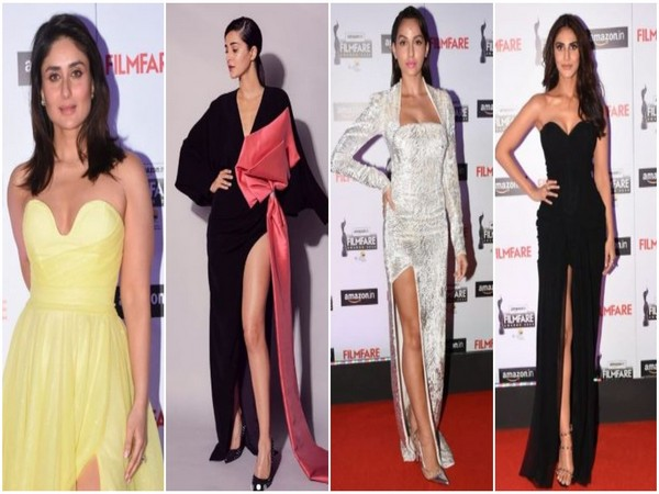 Bollywood actors dazzle at the red carpet of Filmfare's curtain raiser ceremony