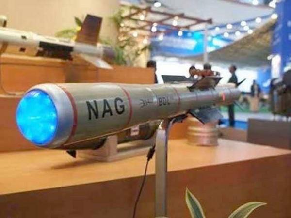 File photo of Nag missile