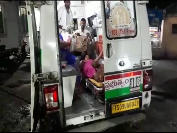 Emergency medical staff help woman deliver baby in 108 Ambulance in Hyderabad