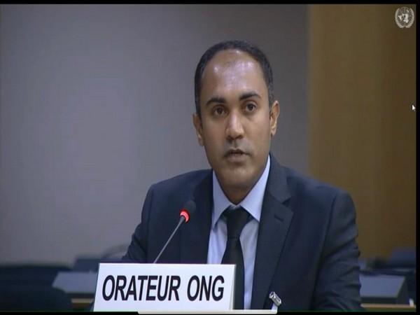 Qambar Malik Baloch at the 45th Session of UN Human Rights Council in Geneva