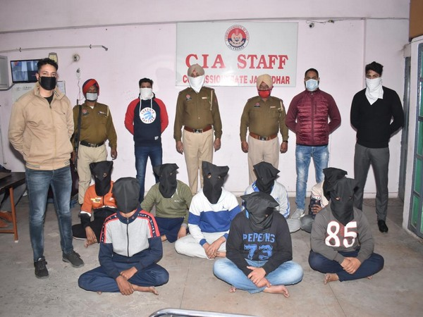 Commissionerate Police arrested eight persons for attack on Shri Ram Bhakt Sena chief (Photo/ANI)