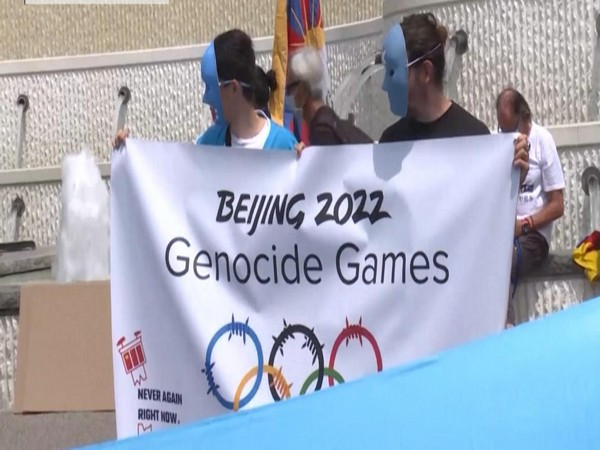 Demands for some form of boycott of the Beijing Games are continuously growing. )