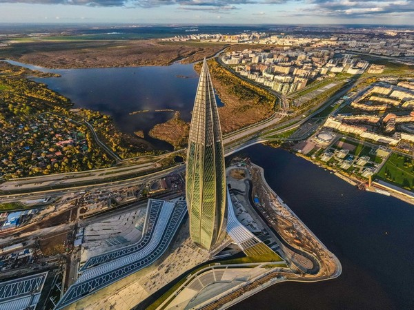 Lakhta Center in Russia's St. Petersburg (Image Courtesy: GORPROJECT)