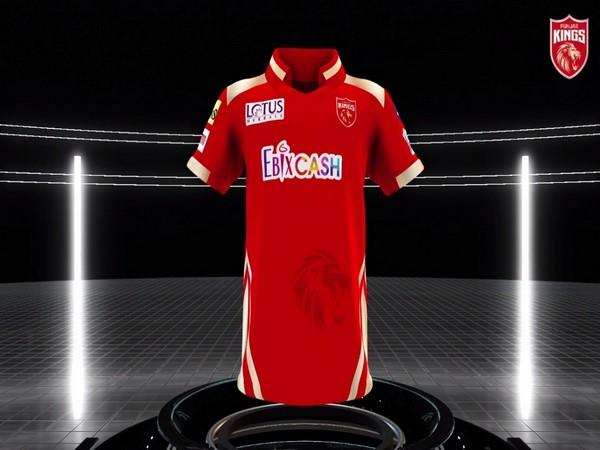 Punjab Kings' new jersey (Photo/ Punjab Kings)