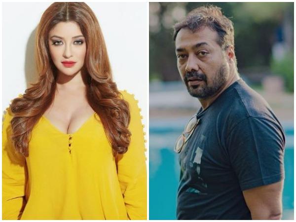 Payal Ghosh and Anurag Kashyap (Image courtesy: Instagram)