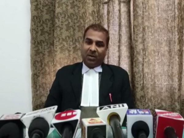 Advocate Pawan Kumar Pathak. Photo/ANI