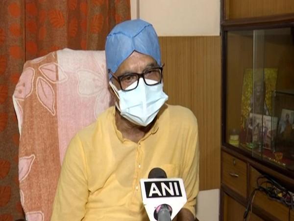 Congress leader Pradip Bhattacharya speaking to ANI in Kolkata on Wednesday. [Photo/ANI]