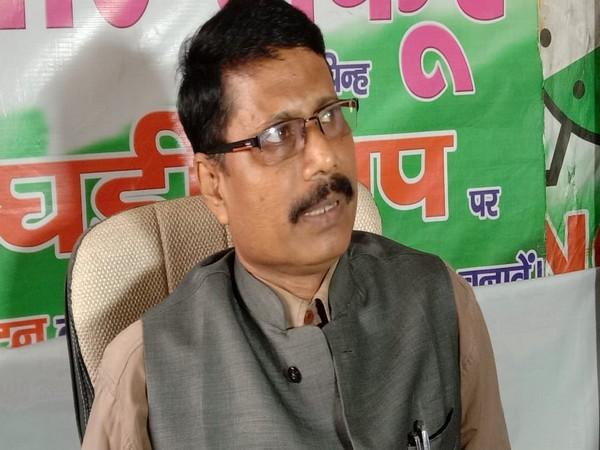 Bihar NaNCP state secretary Anwarul Haq speaks to media in Katihar on Tuesday