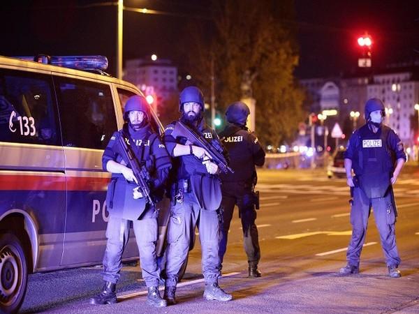 Police blocks a street near Schwedenplatz square after exchanges of gunfire in Vienna, Austria on November 2, 2020. (Photo Credit: REUTERS)