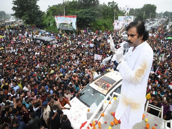 Janasena Party President Pawan Kalyan (Photo/ANI)