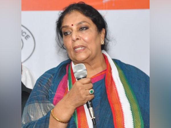 Senior Congress leader Renuka Chowdhury (Photo/Twitter)