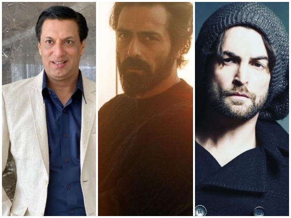 Madhur Bhandarkar, Arjun Rampal, Neil Nitin Mukesh (Image courtesy: Instagram)