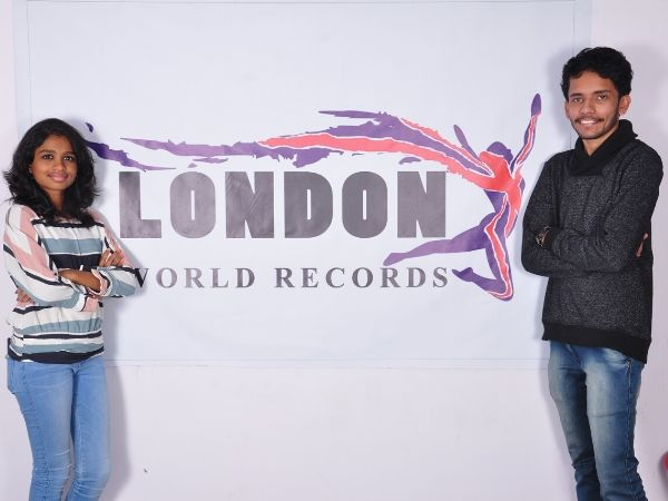Two young talents from Bengaluru named as Ananya (15yrs), Ashish (19yrs) who were discovered by London World Record.