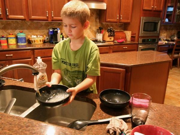 Chores don't matter for personality development, but they still predict future chore behaviour.
