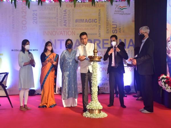 Goa CM Pramod Sawant inaugurates start-up conclave 'Antha Prerna' in Panaji