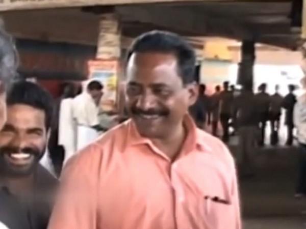 Visual of RMP founder TP Chandrashekaran from the poll campaign video of KK Rema (Photo/ANI)