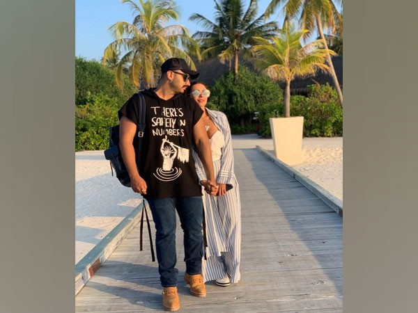 Arjun Kapoor with Malaika Arora (Image source: Instagram)