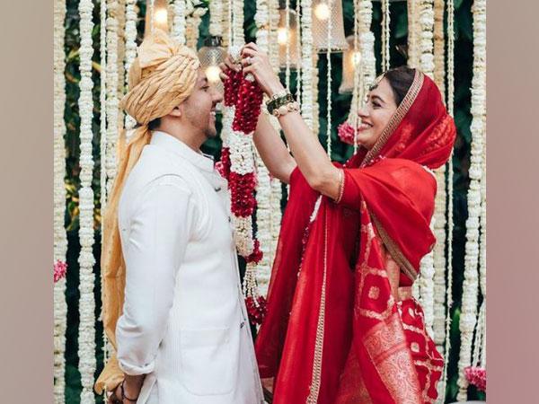 Dia Mirza and husband Vaibhav Rekhi (Image Source: Instagram)