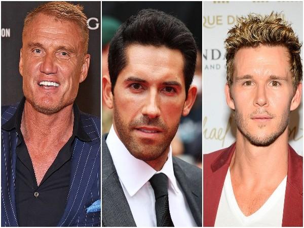 Dolph Lundgren, Scott Adkins, Ryan Kwanten (L to R) (Image source: Instagram)