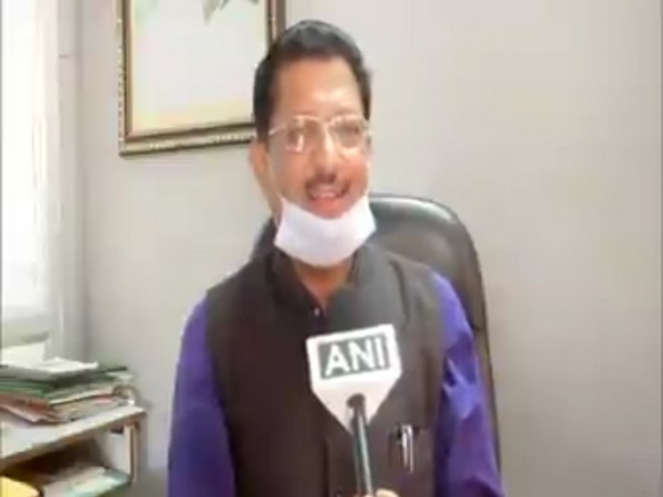 Vice President of Uttarakhand Congress, Surya Kant Dhasmana [Photo/ANI]