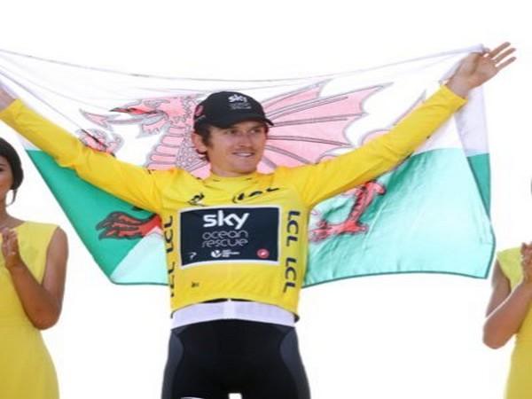 Cyclist Geraint Thomas (Photo/Geraint Thomas Twitter)