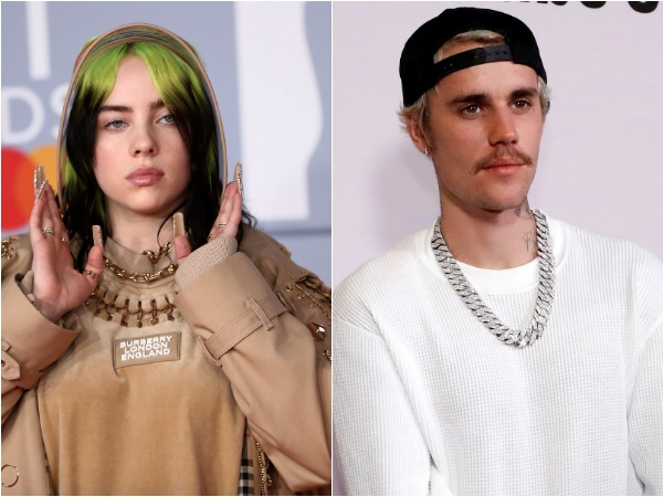 Billie Eilish, Justin Bieber