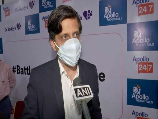 Deepak Sapra, CEO, Pharmaceutical Services and Active Pharmaceutical Ingredients, Dr. Reddy's labs. (Photo/ANI)