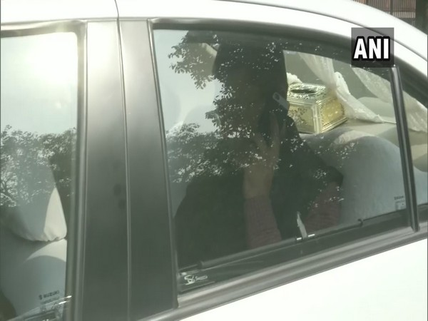 An official arrives at Supreme Court in New Delhi on Friday.