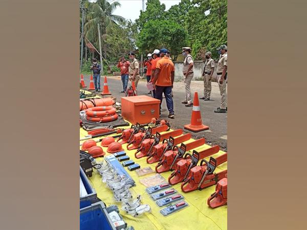 ODRAF preparation for Cyclone Yaas (Photo/ANI)