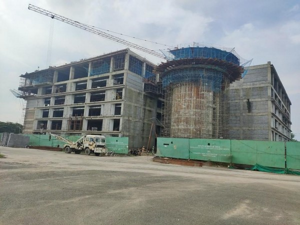 ATC under construction at Kolkata