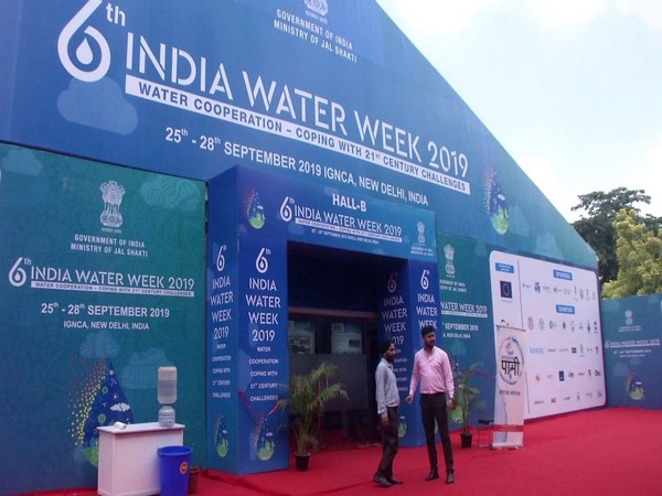 India Water Week is being organised between September 25 and 28 in New Delhi. Photo/ANI