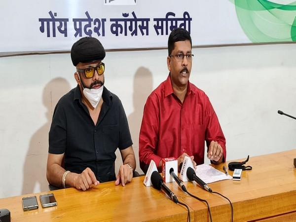 GPCC spokesperson Amarnath Panajikar and general secretary Janardhan Bhandari (Photo/ANI)