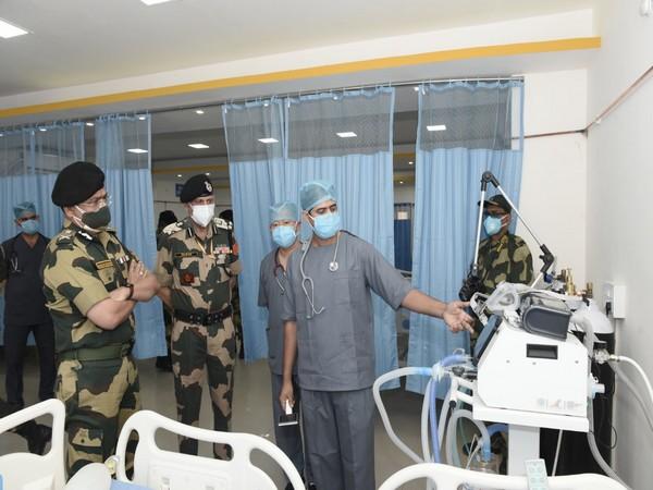 BSF's COVID Care Centre (Photo/ANI)