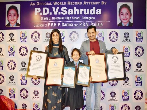 PDV Sahruda has set two world records in different disciplines. Photo/ANI