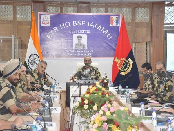 Border Security Force (BSF) Director General Pankaj Singh