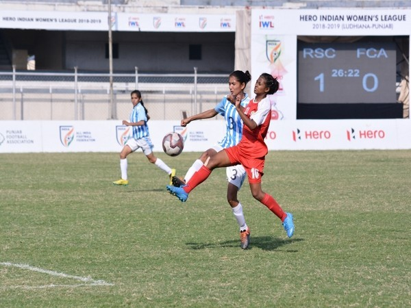 Rising Student Club and FC Alakhpura in action (Photo/ AIFF)