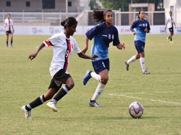 Bangalore United and Baroda in action (Photo/AIFF)
