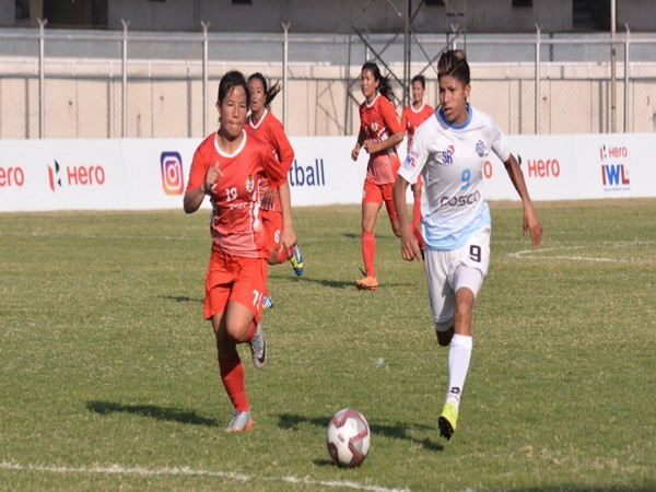 Sethu FC and Manipur Police in action (Photo/AIFF)
