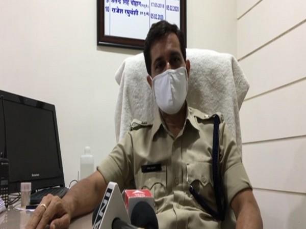 Rajesh Raghuvanshi, Additional SP, Indore (East) (Photo/ANI)