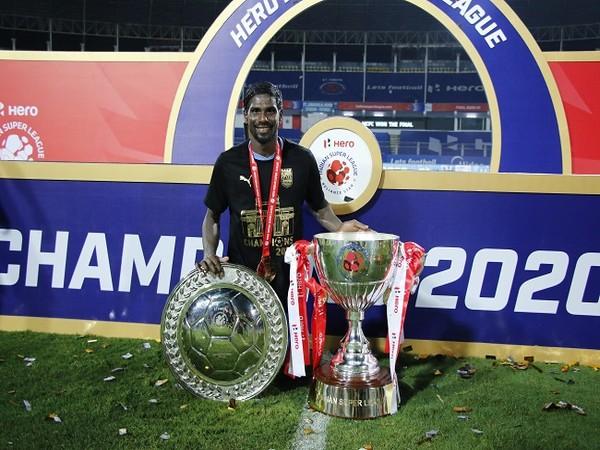 Midfielder Rowllin Borges (Image: Mumbai City FC)