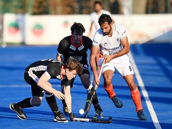 Gurjant Singh in action (Image: Hockey India)