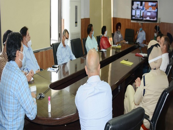 Jammu Divisional Commissioner, Sanjeev Verma chaired the meeting to review arrangements for Amarnath Yatra.