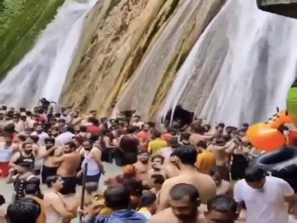 Visual from Kempty Falls (Photo/ANI)