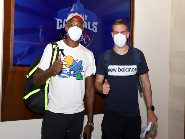 Kagiso Rabada and Anrich Nortje (Photo: Delhi Capitals)