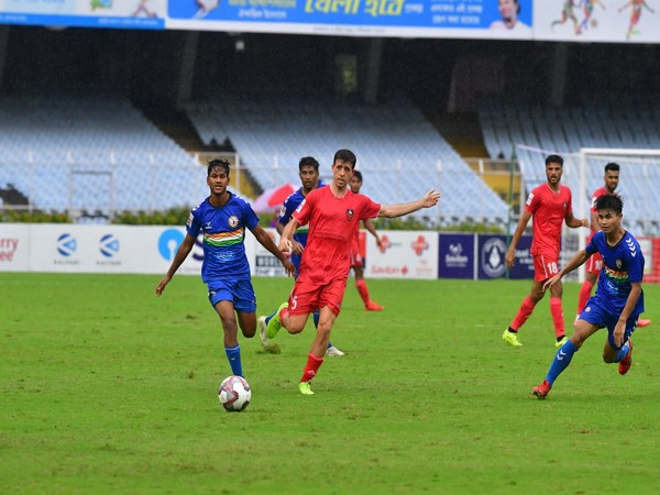 FC Goa and Sudeva Delhi FC' players in action (Photo: Durand Cup)