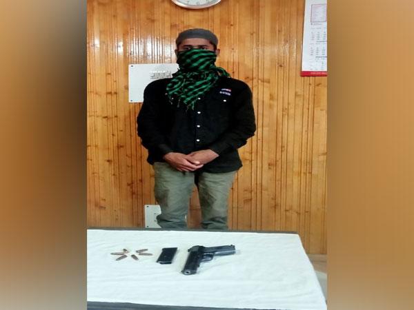 Lashkar-e-Taiba terrorist held in Jammu and Kashmir