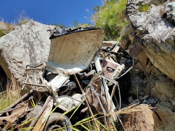 The incident took place on the Tuesday morning when an SUV carrying four people fell into a deep gorge near Jhakari area.